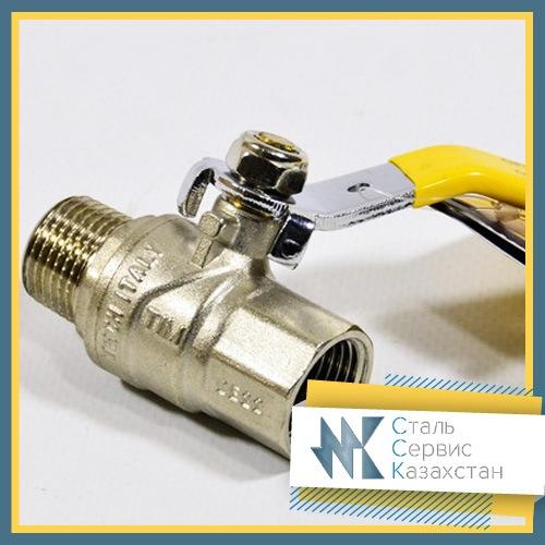 Купить Кран шаровый Газ 15 мм РУ 16, 11Б41п3 (11б27п)