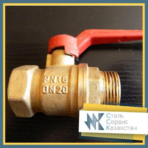 Купить Кран шаровый Вода 15 мм, РУ 16, 11б27п1