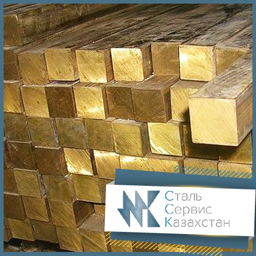 Buy The square is brass, the size is 25 mm, GOST 6688-91, 2060-90, brand lmts58-2, N.D., L = 3 m, L = 6 m.