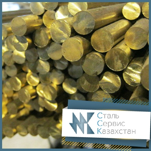Buy The circle, bar brass, the size is 6 mm, GOST 2060-90, 2060-2006, 16130-90, 16130-90, brand lzhs 58-1-1, ND, L = 6 meters