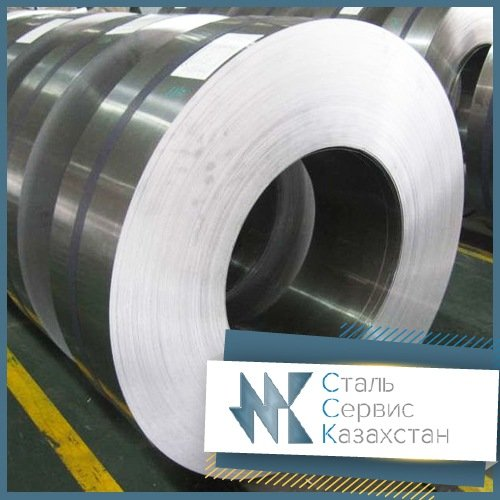 Buy The tape is corrosion-proof, the size is 40x1.3 mm, Steel 12kh18n10, 08kh18n10, 12kh18n9, AISI 304
