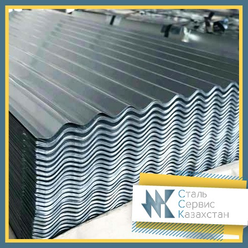 Buy Metalslate galvanized, size of 0.55 mm, MP18, 1.15h0.5-16