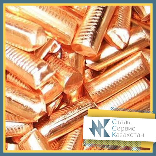 Buy Anodes copper, size of mm, GOST 767-91, brand m0k