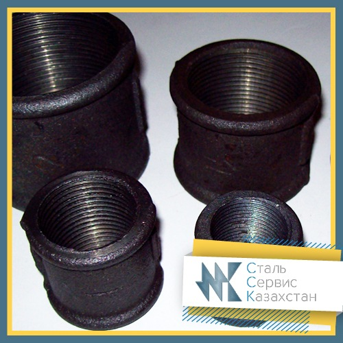Buy Coupling pig-iron, size of 15 mm, GOST 8954-75, galvanized