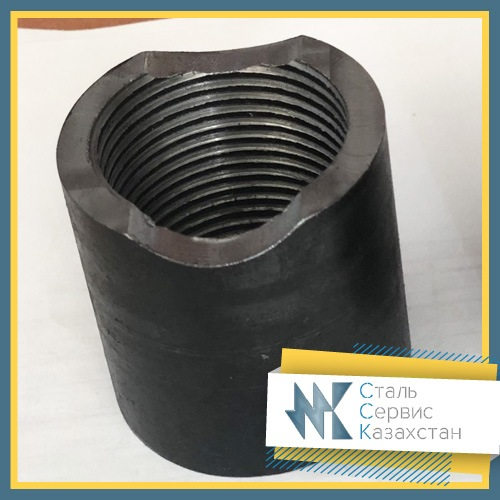 Buy Coupling steel, size of 40 mm, GOST 8966-75, galvanized