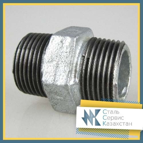 Buy Nipple steel, size of 40 mm, GOST 8967-75, galvanized