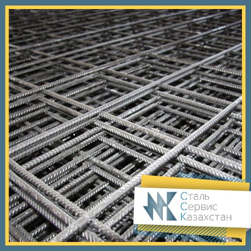 Buy The grid is reinforcing, the size of 100x100x10 mm, Cutting 2х6, for quarter meter.