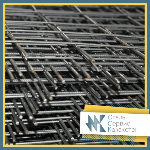 Buy The grid is road, the size of 200x200x10 mm, Cutting 2kh (roll), for quarter meter.
