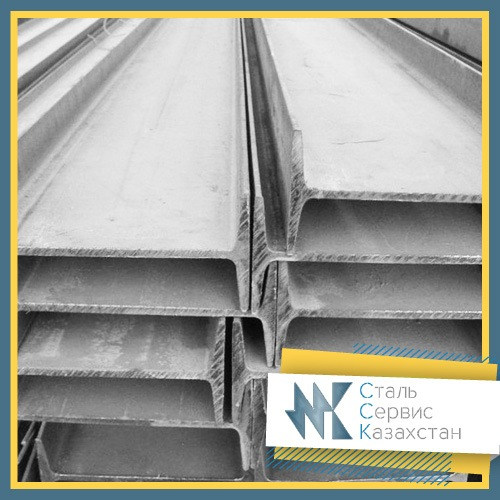 Buy The beam is dvutavrovy, the size is 100 mm, ASChM 20-93, steel 3sp5, 3ps5, 255, L = 6-11.8 meters