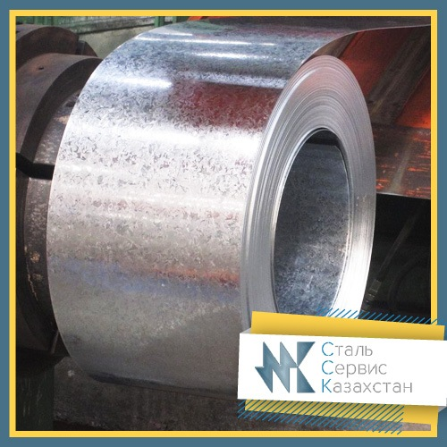 Buy The tape is galvanized, the size of 10 mm, GOST 14918-80, steel 08kp, 08ps, 1ps