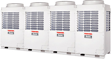 Buy External blocks with two two-rotor compressors of a direct current of VRF of the Toshiba SHRM system