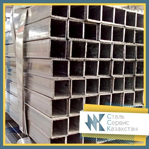 Buy The pipe is profile, the size is 200x100x8 mm, Rectangular, 8639-82, 8645-68, steel 3 of the joint venture, 10, 20, L = 12 meters