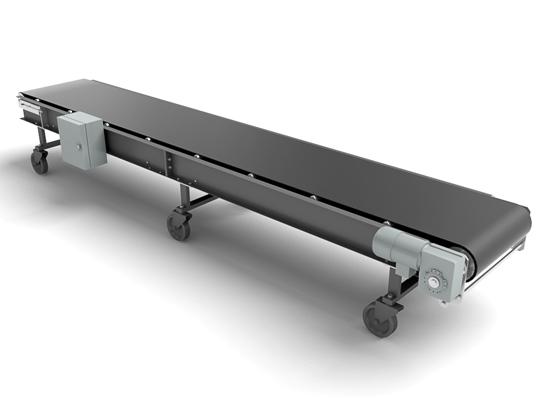 Конвейеры, транспортеры низкопрофильные с малой высотой подъема
