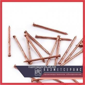Copper nails of 2х40 Sq.m of GOST 6750-75