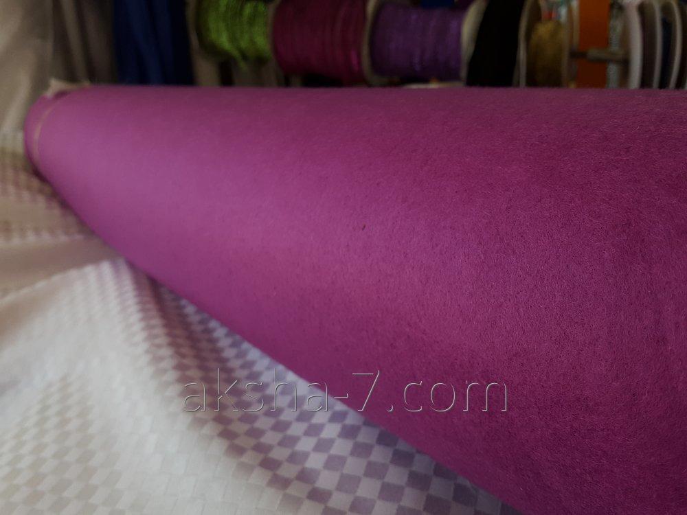 Fieltro. Color púrpura, rosa claro, Negro.