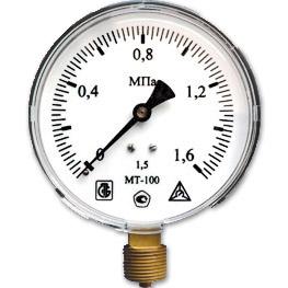 Купить Манометр избыточного давления МТ 100 16
