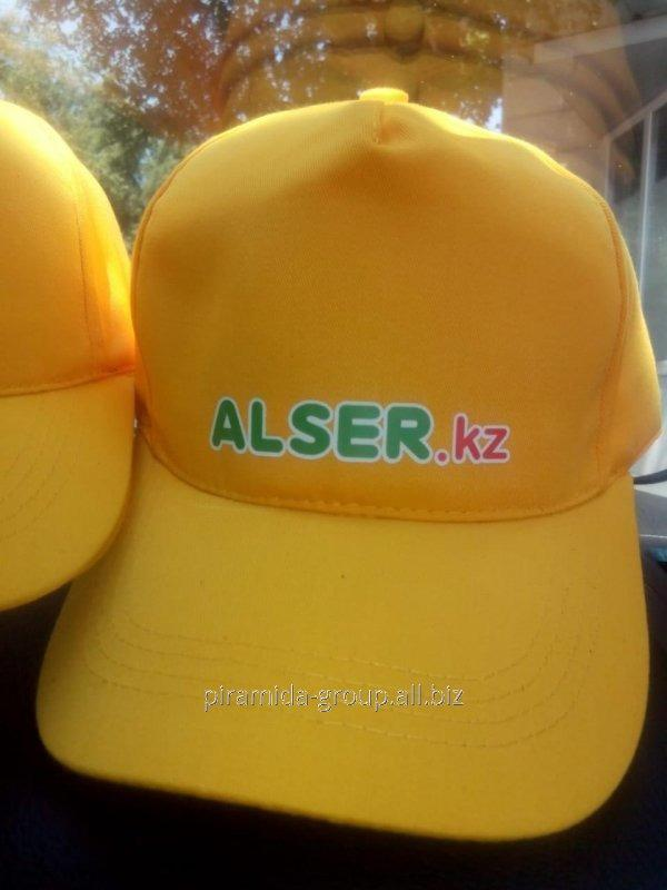 Брендированая кепка с логотипм компании в Алматы, арт. 34259271