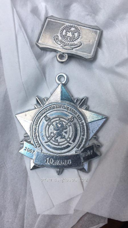 Значки железные и медали литые в Алматы, арт. 37656561
