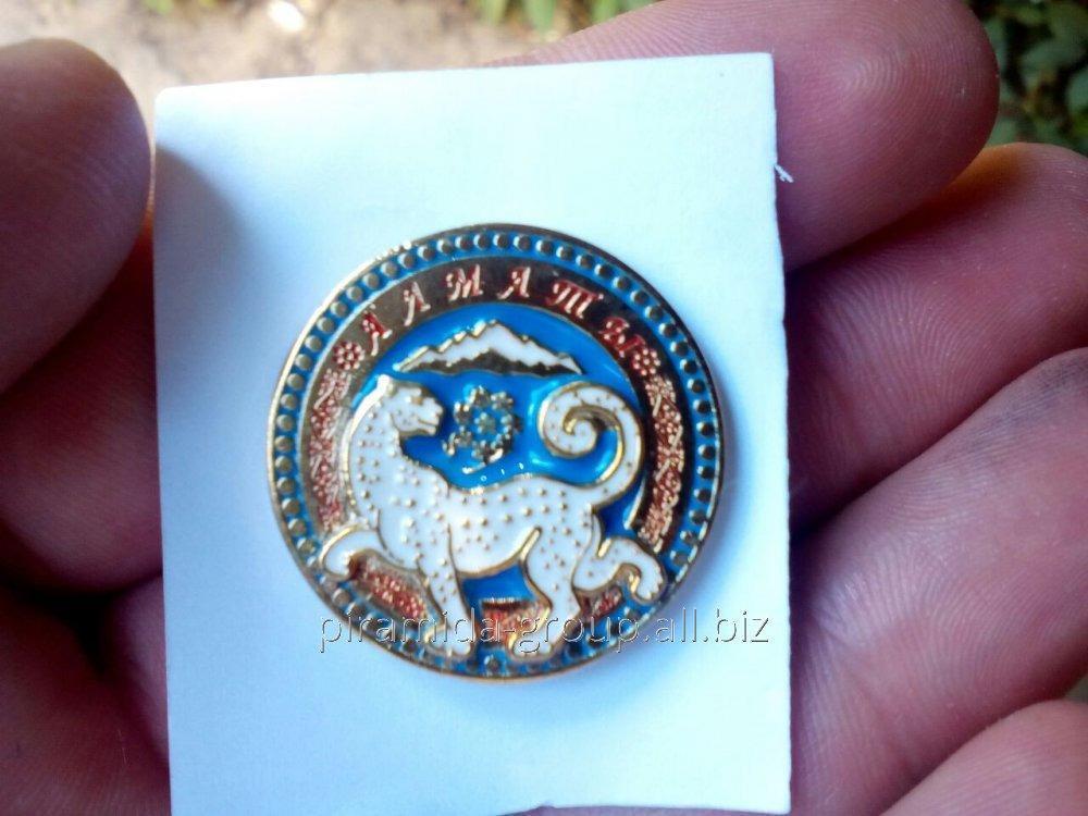 Значки металлические в Алматы, арт. 42365495