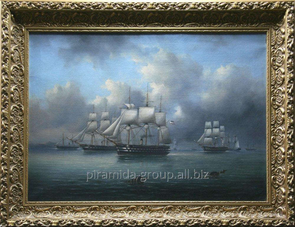 Эксклюзивные картины на фотобумаге с багетом в Алматы, арт. 5217742