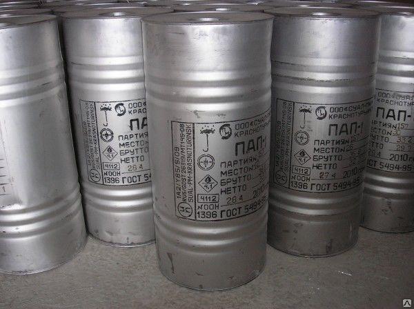 Купить Пудра алюминиевая ПАП-2