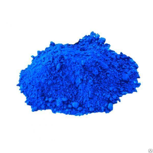 Купить Пигмент синий для бетонной плиты