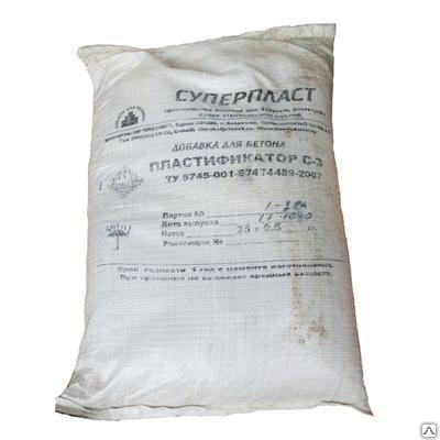 Купить Суперпластификатор С-3 для бетона