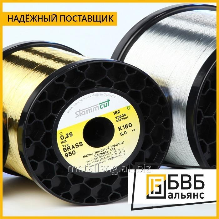 Thermoelectrode wire of 0,30-0,50 PLT state standard specifications P 8.585-2001