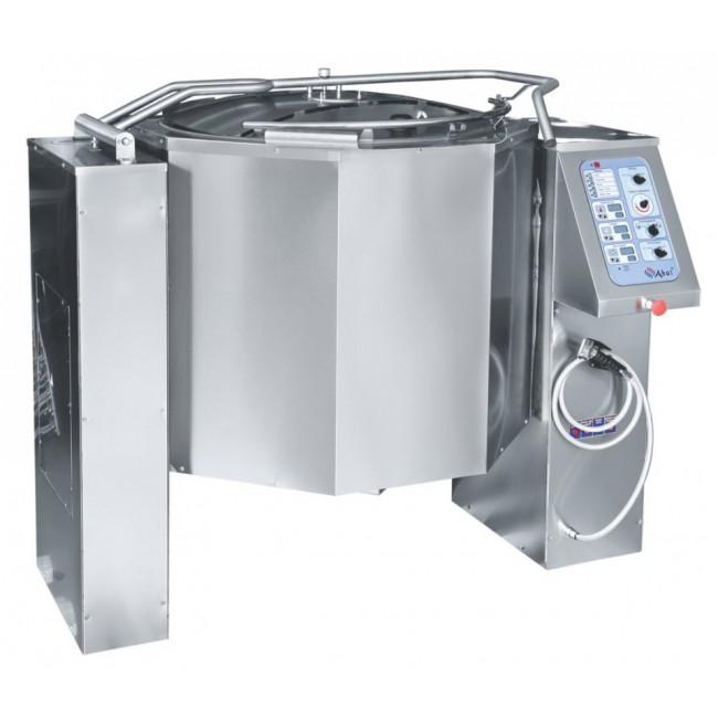 Котел пищеварочный КПЭМ-250-ОМ с миксером и сливным краном