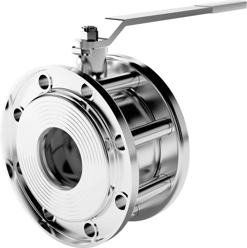 Buy Crane sharovy steel galvanized interflange LD Martin of Du 100, 100.016.02.Zn