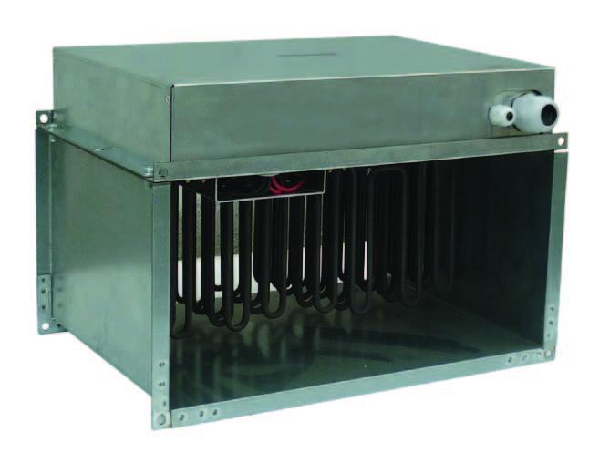 Купить Калорифер канальный КЭВ-90К500х800Е