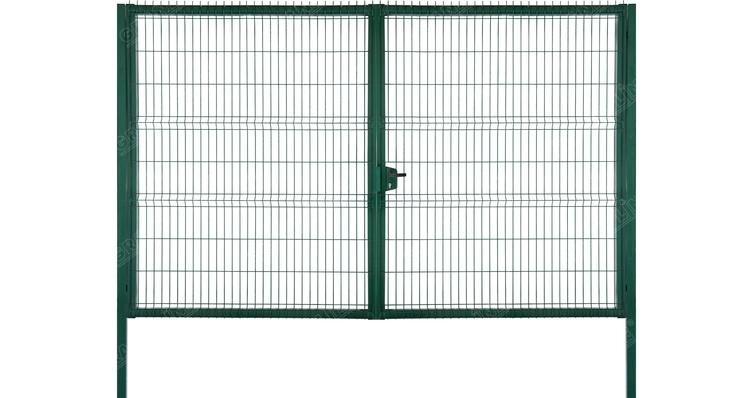 Buy Gate of Profi Lock 2,43х4,0 RAL 6005
