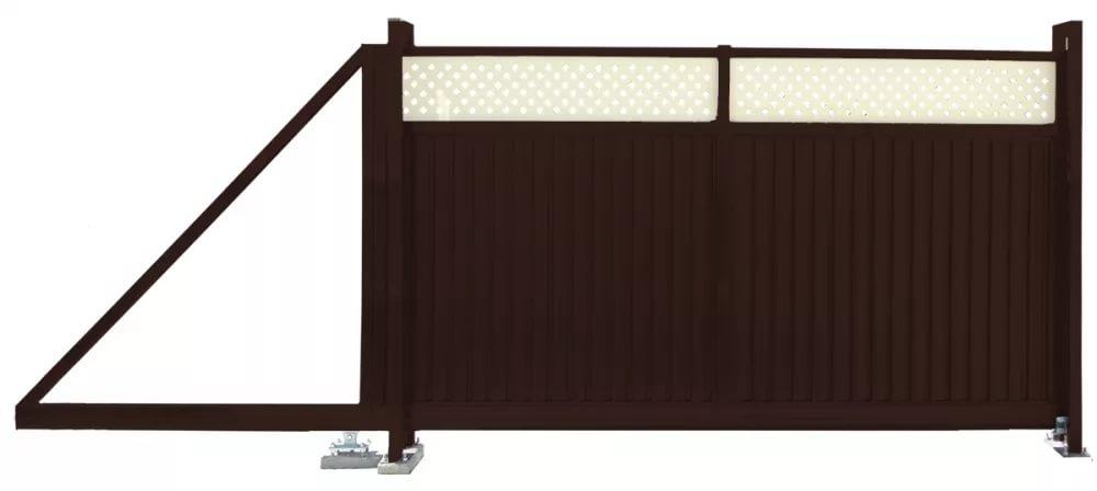 Buy Gate retractable Premium Plus 2,0x3,5 RAL 8017/1014