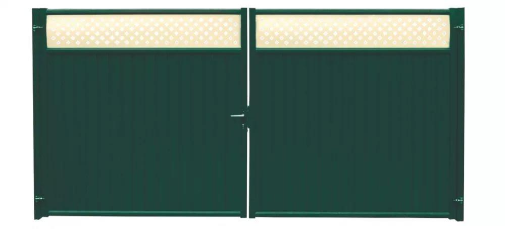 Buy Gate Premium Plus 2,0x3,6 RAL 6005/1014