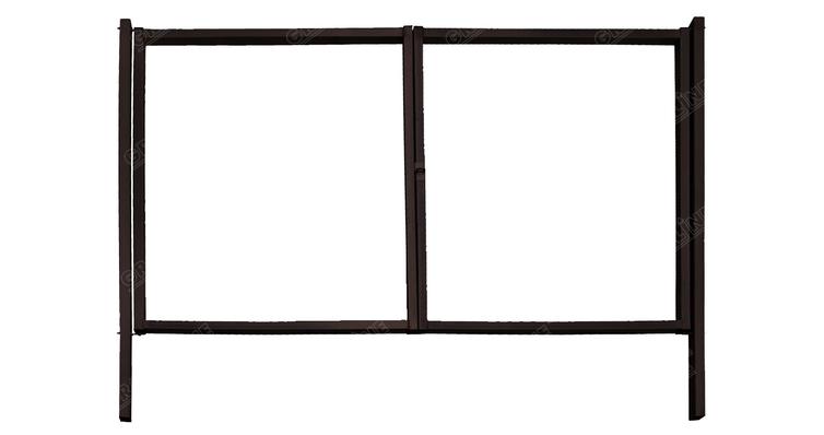 Купить Ворота Эконом 2,0х3,45 RAL 8017