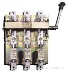 Buy RPS-2/1 250A knife switch left (without PN) isp.4 Elektrodetal