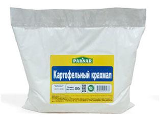 Купить Картофельный крахмал Paknar 500г, 4870004105737
