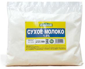 Купить Сухое молоко 1,5% Paknar 500г, 4870004101999
