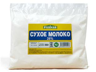 Сухое молоко 28% Paknar 500г, 4870004101913
