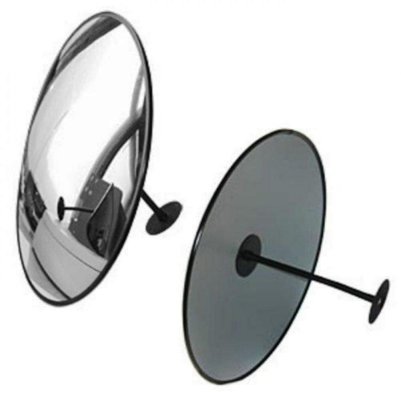 Купить Зеркало для помещений круглое с гибким кронштейном 600 мм