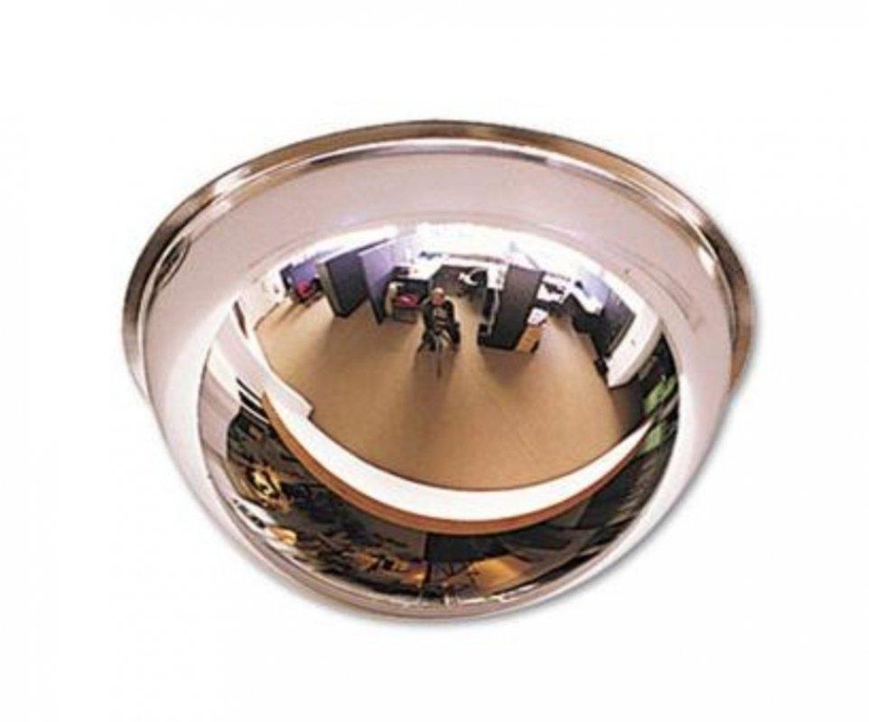 Купить Зеркало для помещений купольное 600 мм