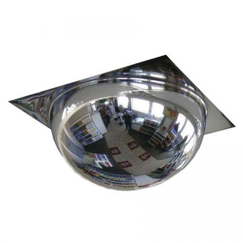 Купить Зеркало купольное Армстронг для подвесного потолка 600 мм