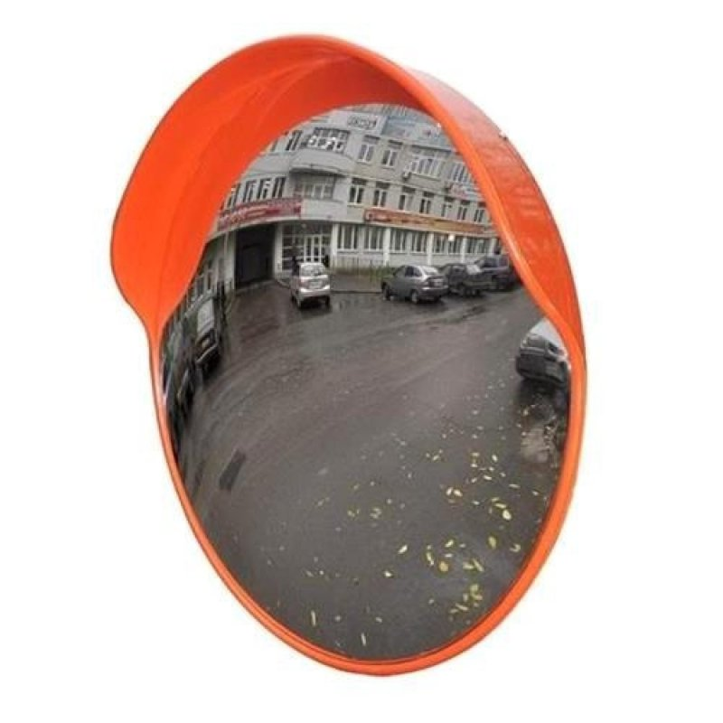 Купить Зеркало уличное с козырьком 1200мм с кронштейном для трубы