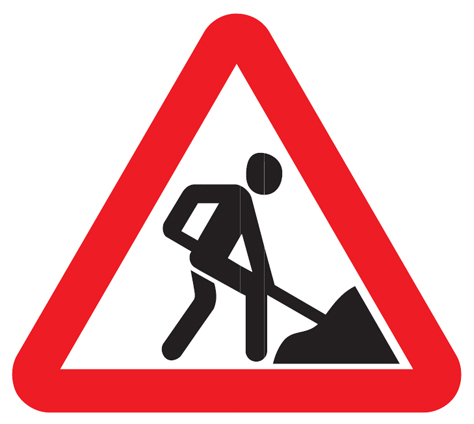 Buy Road sign of 2 t / r Triangular A=900