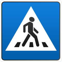 Buy Road sign of 2 t / r Square B=700