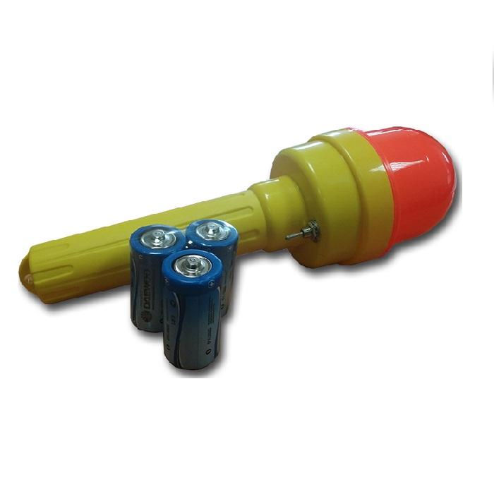 Купить Фонарь сигнальный ФС-4 импульсный с батарейками