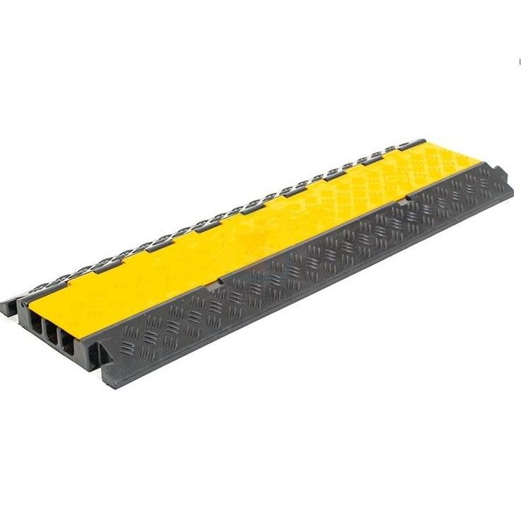 Buy Kabel channel rubber 3 channels on 60 mm. Loading of 20 t. KKP-3-20