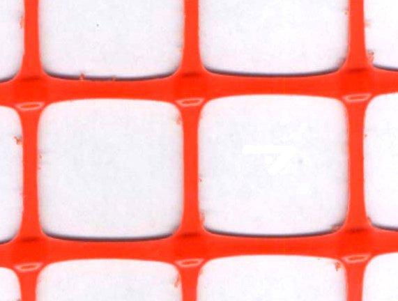 Купить Сетка пластиковая оградительная Барьер А-45, ячейка 40х45мм. рулон 1,3м*25м