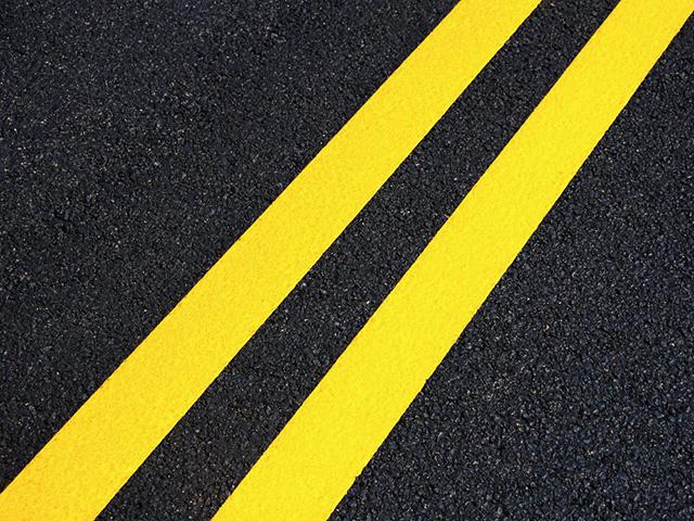 Buy Enamel for a road marking yellow