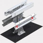 Купить Металлическое мостовое ограждение, 11 МД двустороннее одноярусное 11-МД/300-0,75:1,5-0,80
